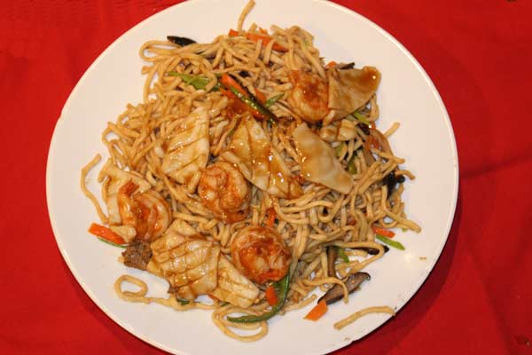 House Pan Fried Noodle
