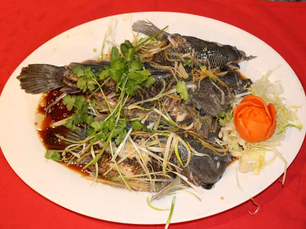 Steamed Whole Fish